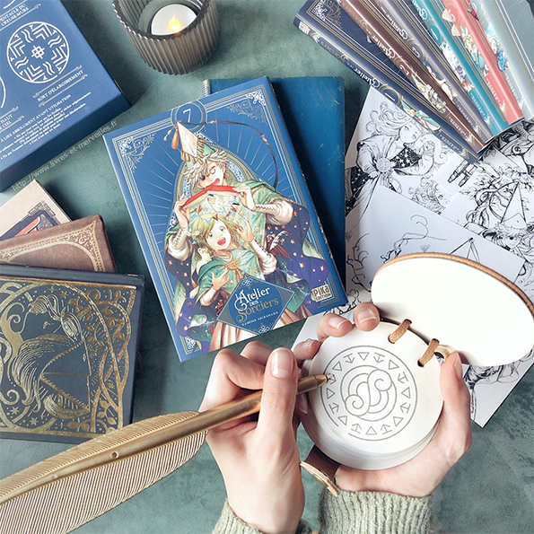 Manga : L'atelier des sorciers - Tome 7
