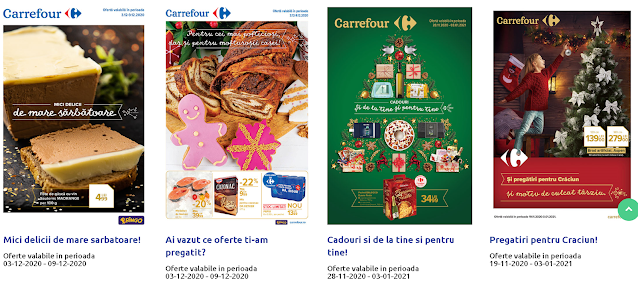 CARREFOUR Cataloage - Brosuri 03-09.12 2020 → Pregatiri pentru Craciun!