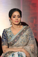 Sri Devi in designer saree stunning beauty at the launch of MOM movie Trailer~  Exclusive 117.JPG