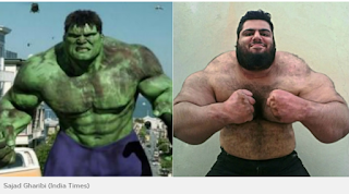 6 Sosok Hulk Di Dunia Nyata, Badannya Besar dan Kekar