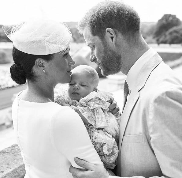 Archie Harrison Mountbatten-Windsor was christened in the Private Chapel at Windsor Castle