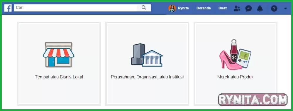 cara mengubah facebook menjadi fanspage