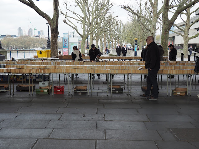 Southbank Book Market--London