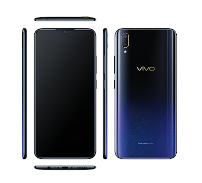 Vivo V11 Pro Launched - A Fancier Halo Notch upgrade to the Vivo X21.