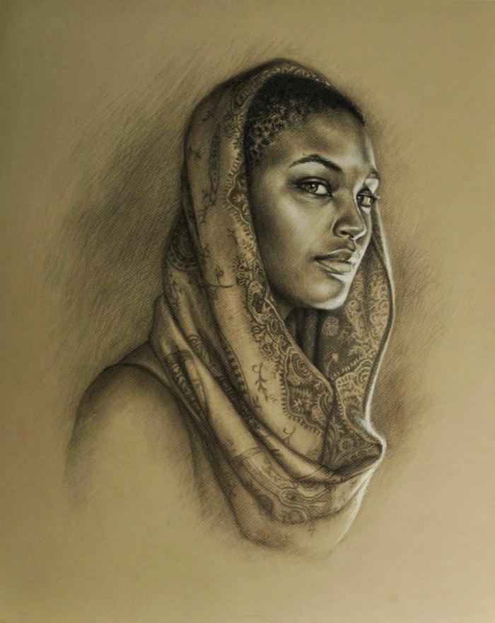 Красота живописи. Sara Golish 11