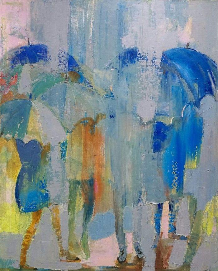 Цвет и композиция. Молдавский художник. Victoria Cozmolici 3