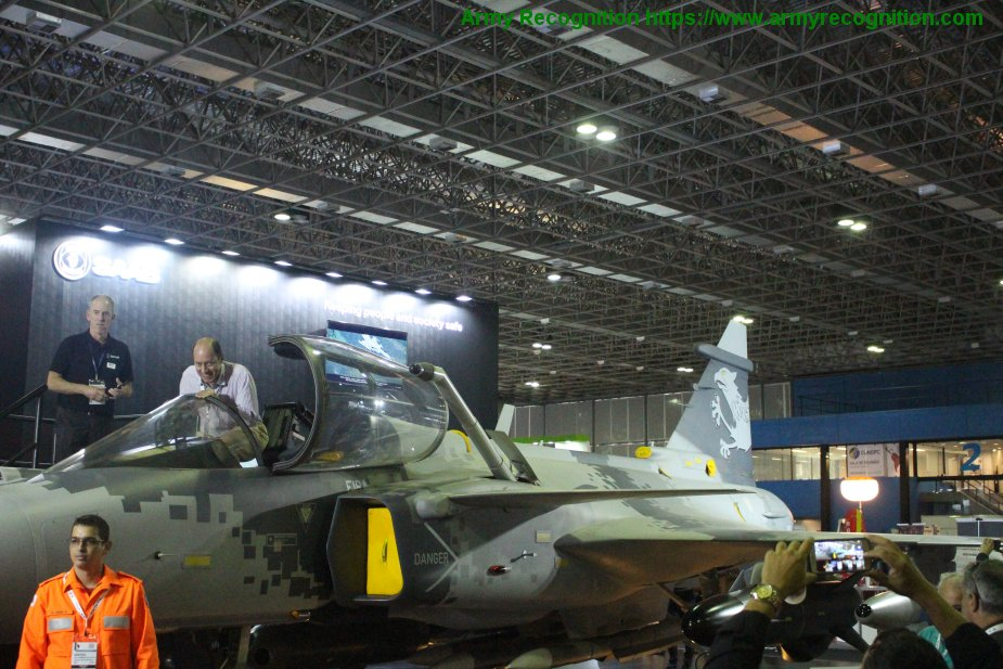 world new news: LAAD 2019: Saab revealed details of JAS-39NG Gripen