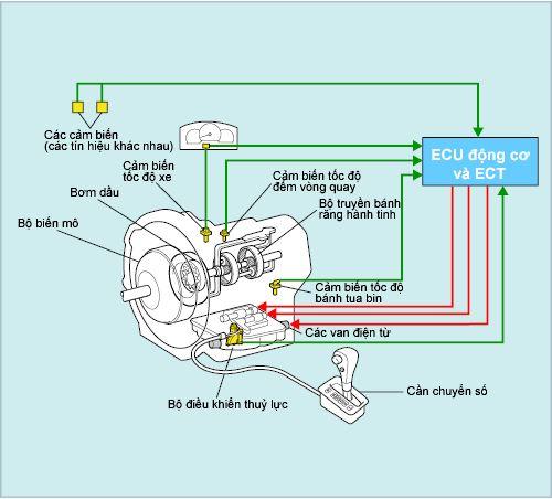 Hộp số điều khiển điện tử (ECT)
