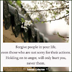 Forgive people in your life