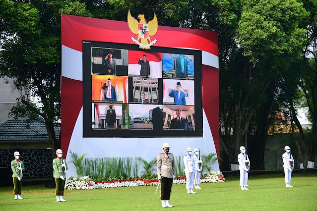 Jokowi Pimpin Upacara Hari Kesaktian Pancasila Tahun 2021 di Taman Buaya.lelemuku.com.jpg