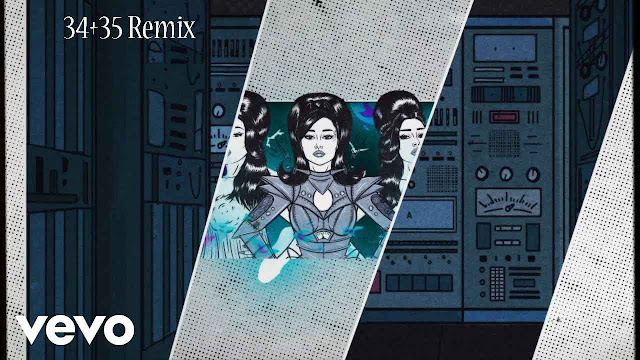 34 + 35 Remix Song Lyrics - Ariana Grande ft. Doja Cat, Megan Thee Stallion