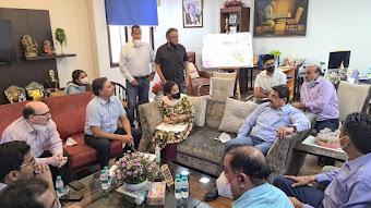 आईएमएसएमई ऑफ इंडिया व हनुमंत फाउंडेशन सहित विभिन्न संगठनों की पहल, 200 बैड का सेवा केंद्र शीघ्र