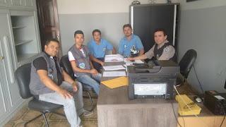 Conselheiros Tutelares de Baraúna e Picuí concedem entrevista a 89 FM e se reúnem com o Comandante do 9º BPM