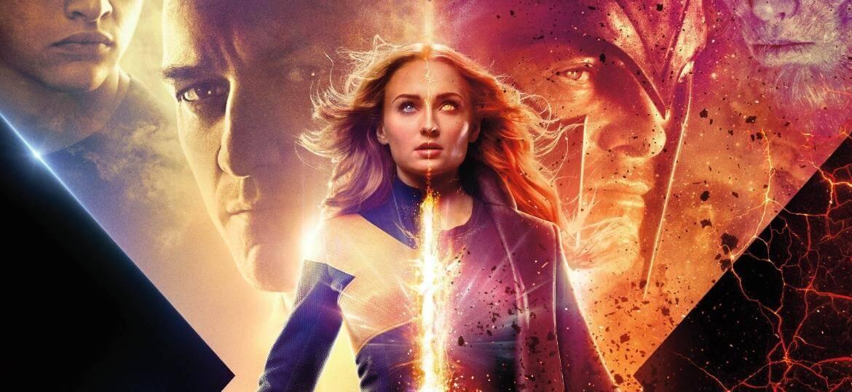 Poster oficial do filme X-Men: Fênix Negra