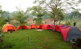 Camping Keluarga Taman edukasi salam dayat