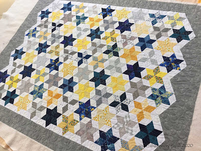 Rebecca's First Quilt - Hand Pieced English Paper Piecing