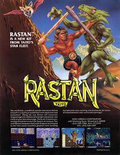 Jogue Rastan Arcade online grátis