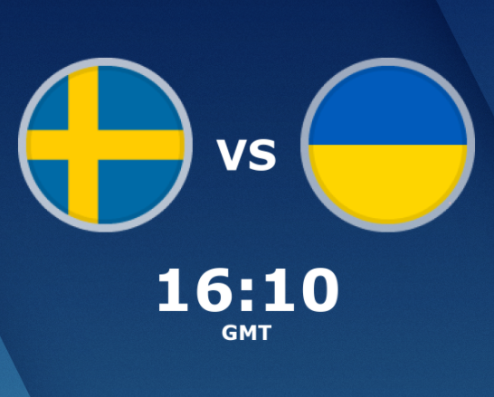 بث مباشر مباراة السويد واوكرانيا