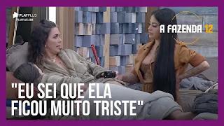 A Fazenda 12 – Luiza diz estar preocupada com a filha – Tays perde para Mariano e fica com vergonha