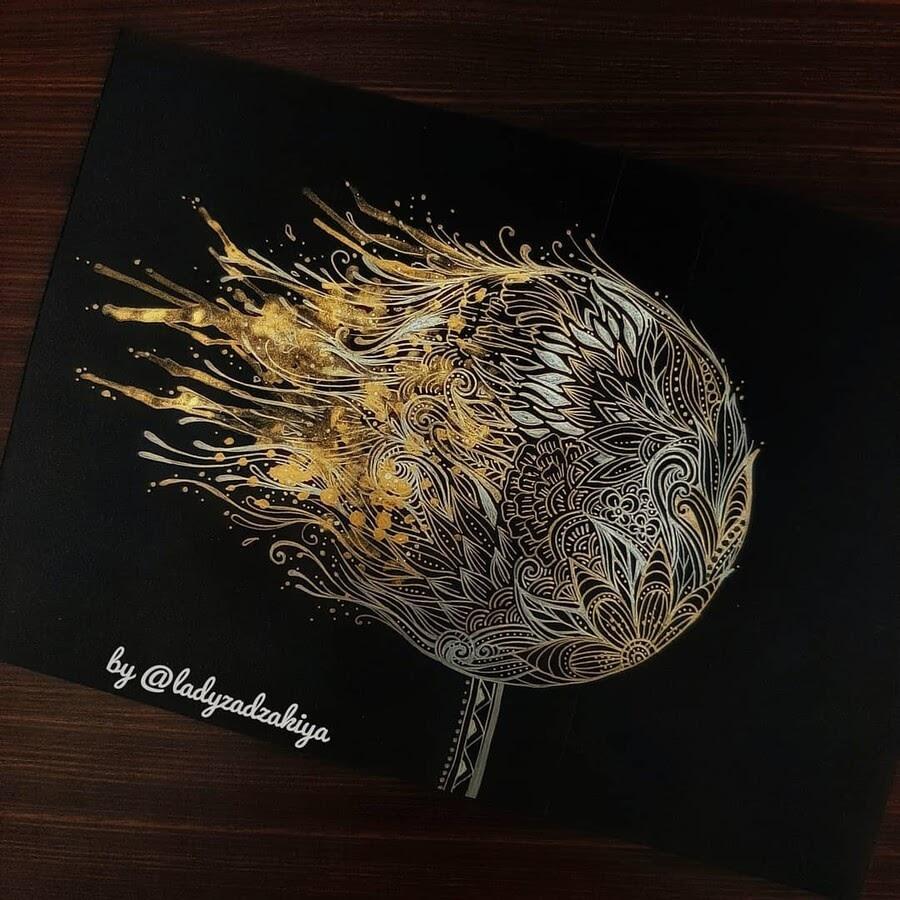 10-A-ball-of-golden-fire-ZSH-www-designstack-co