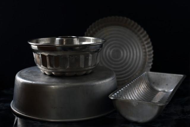 still-kuva, alumiinivuoka, kakkuvuoka