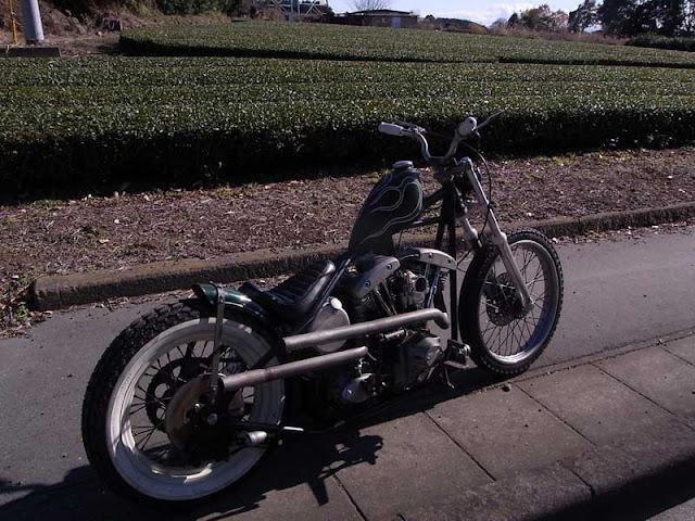 Harley Davidson Shovelhead By Authentic Motor Service Hell Kustom