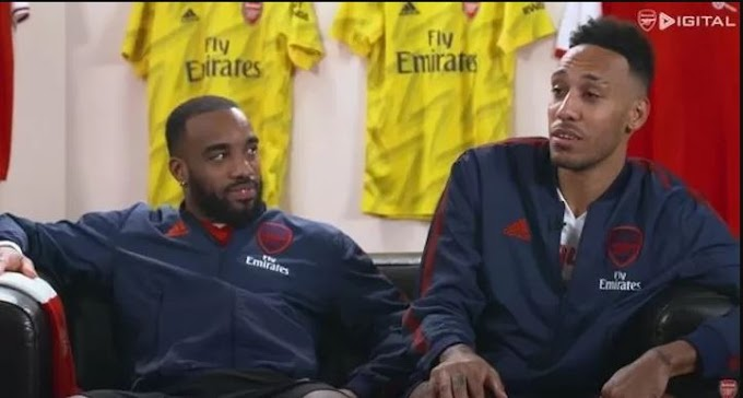Pepe is the most skilful player at Arsenal according to Lacazette and Aubameyang