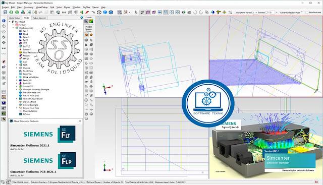 Siemens Simcenter FloTHERM v2021.1.Suite.x64