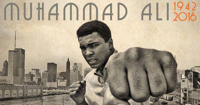 Quais foram as últimas palavras de Muhammad Ali?