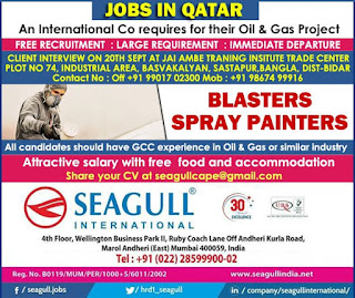 Blasters Spray Painters for Qatar