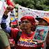 Gran Marcha por la Unidad Latinoamericana en Caracas alzó su voz contra el FMI