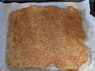 Plaque de crackers fait maison salé