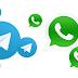 DIFERENCIAS ENTRE TELEGRAM WHATSAPP