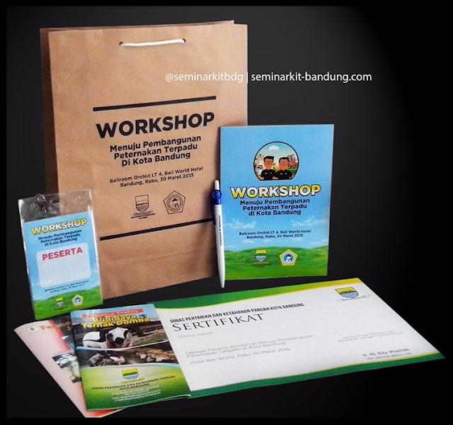 Pesanan Paket Seminar kit dari Dinas Pertanian dan Ketahanan Pangan Kota Bandung