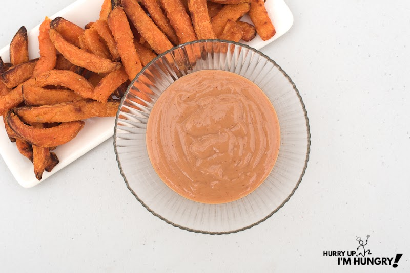 Maple Mayo Dipping Sauce for Sweet Potato Fries