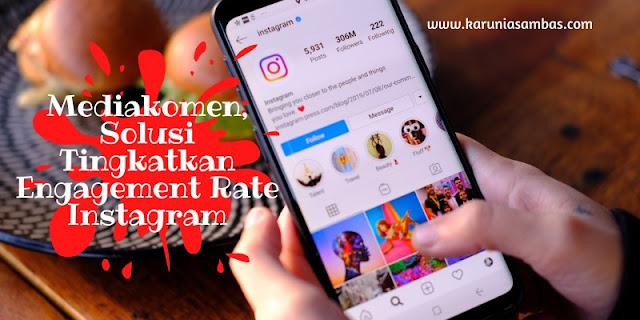 mengapa engagement rate instagram rendah