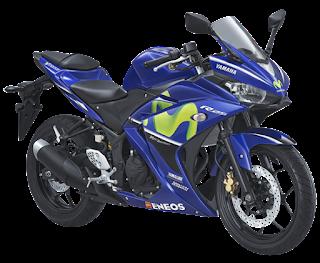 Motor Sport Yamaha R25 GP Movistar Terbaru 2018 Harga Motor Murah