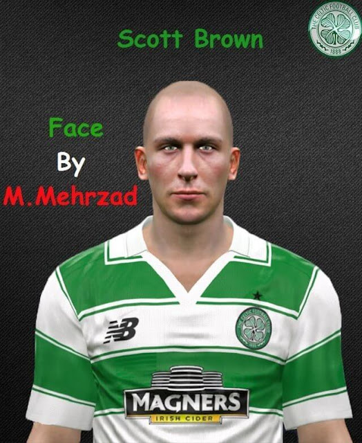 Scott Brown Face PES 2017