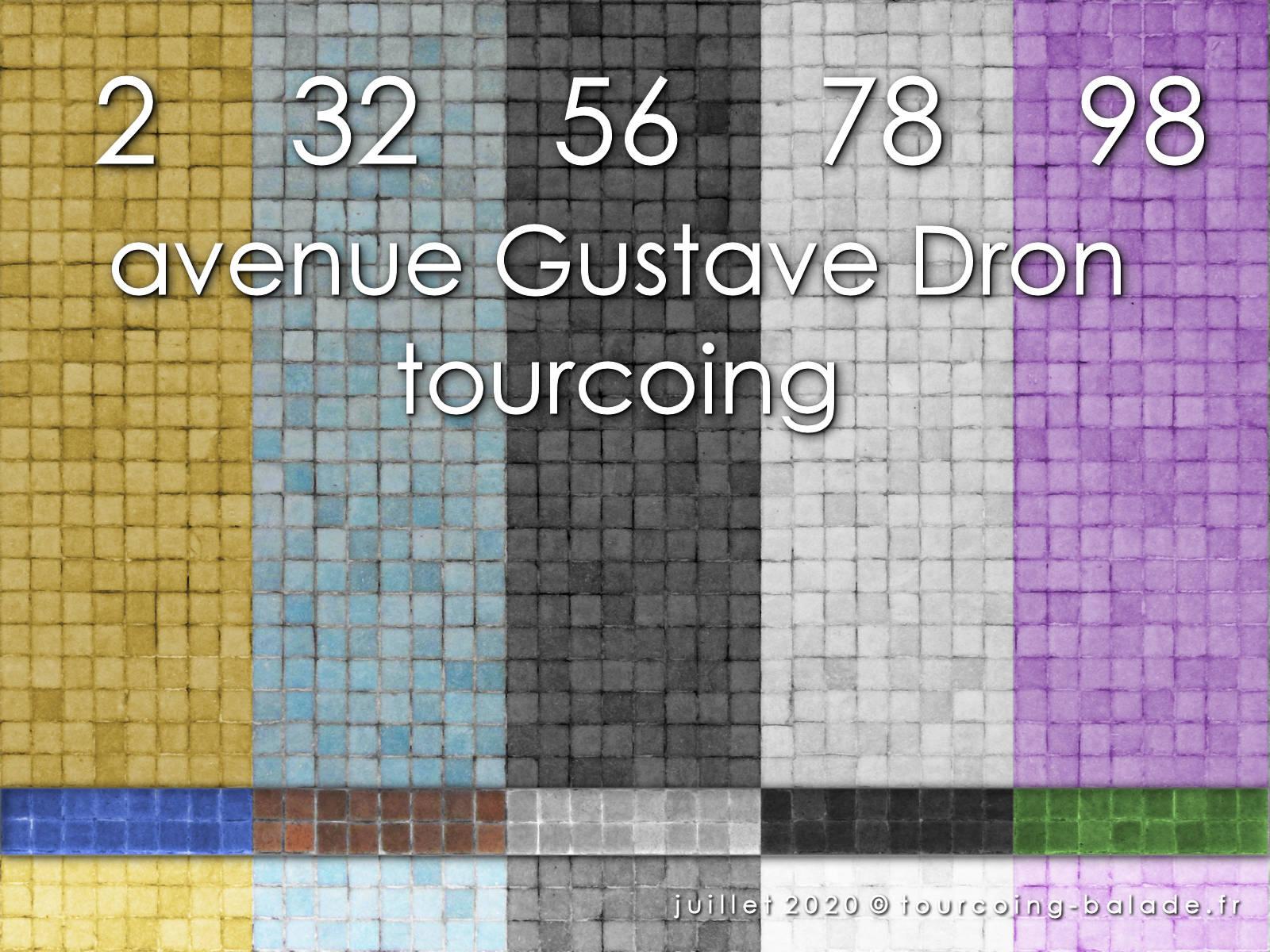 Code couleurs Tours Dron, Tourcoing 2020