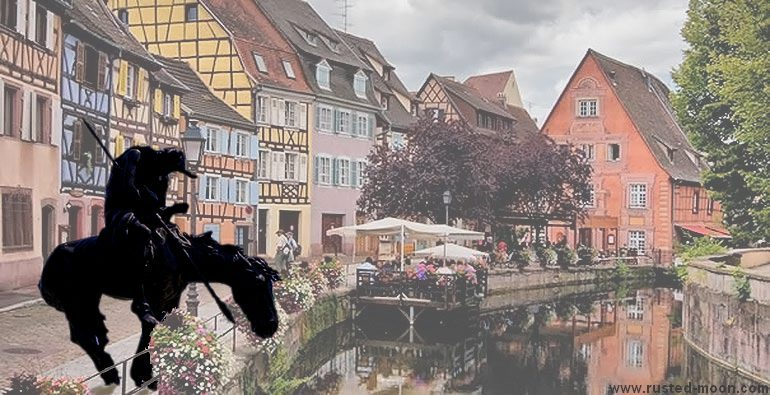 Crazy Horse in Colmar: End of the Trail