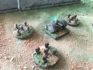 Some 3D Printed Miniatures for Landships