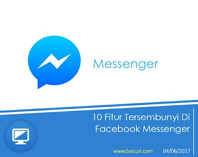 10 Fitur Tersembunyi di Facebook Messenger