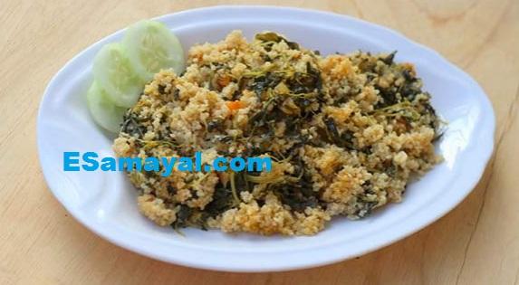 சுவையான கீரை உப்புமா செய்வது   Spinach Uppuma Recipe !