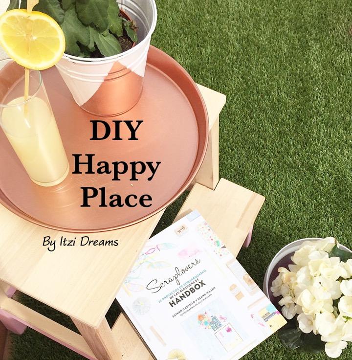 DIY Happy Place, Desafioceysynovasol, tutorial chalk Paint