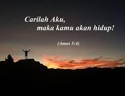 Carilah Tuhan Maka Kamu Akan Hidup