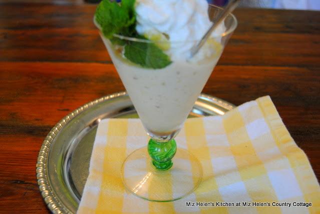 Pineapple Banana Freeze Dessert at Miz Helen's Country Cottage