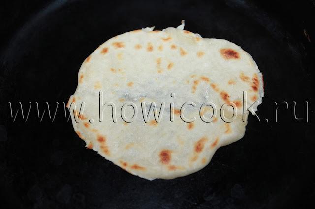 рецепт тонких китайских лепешек с пошаговыми фото