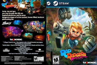 Jogo Rad Rodgers - Radical Edition PC DVD Capa