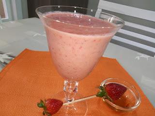 Recette du Smoothie aux fraises et bananes