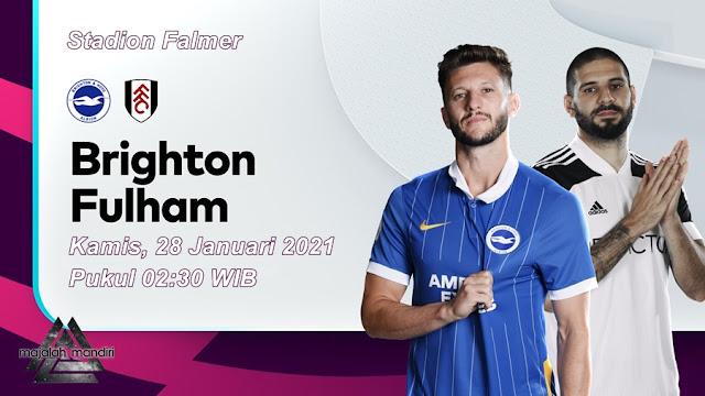 Prediksi Brighton Hove Albion Vs Fulham
